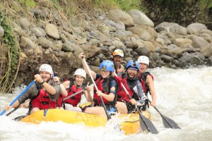 White Water Rafting in La Fortuna