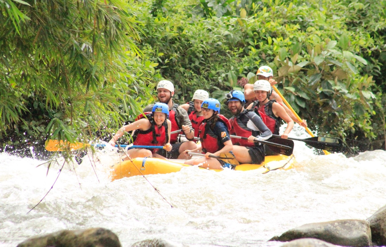 Rafting in La Fortuna, Costa Rica