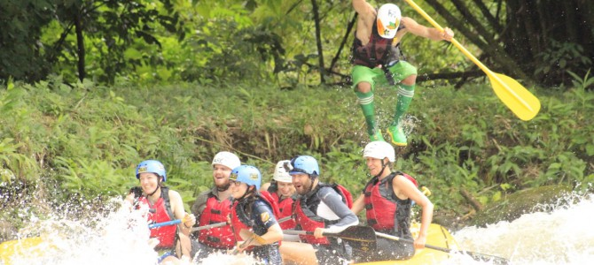 Rafting in La Fortuna