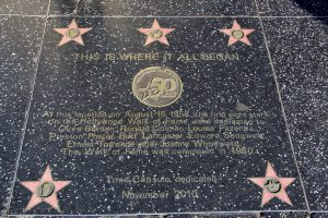 Walk of Fame: hier fing alles an