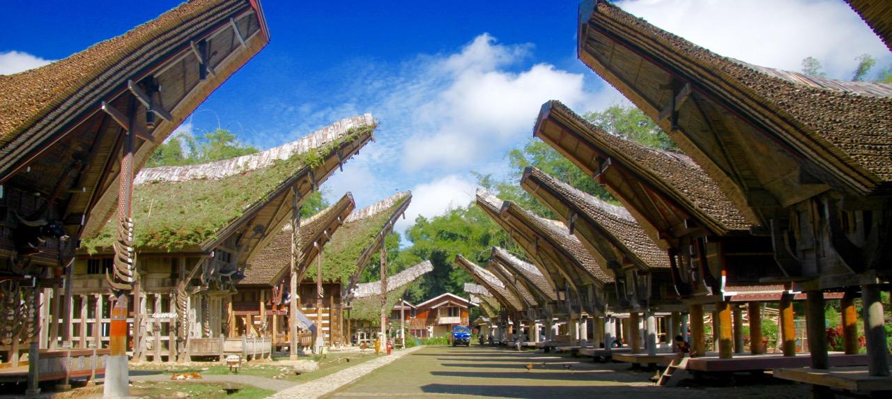 Dorf der Toraya