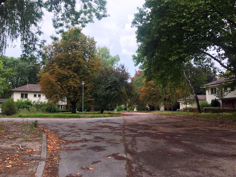 Strasse im Patrick-Henry-Village, Heidelberg