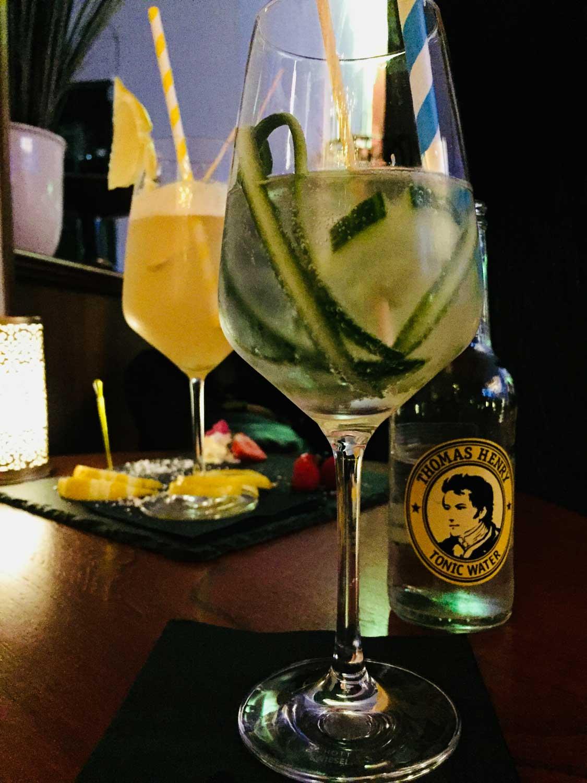 Cocktails von der Hotelbar im Hanseatischer Hof in Lübeck