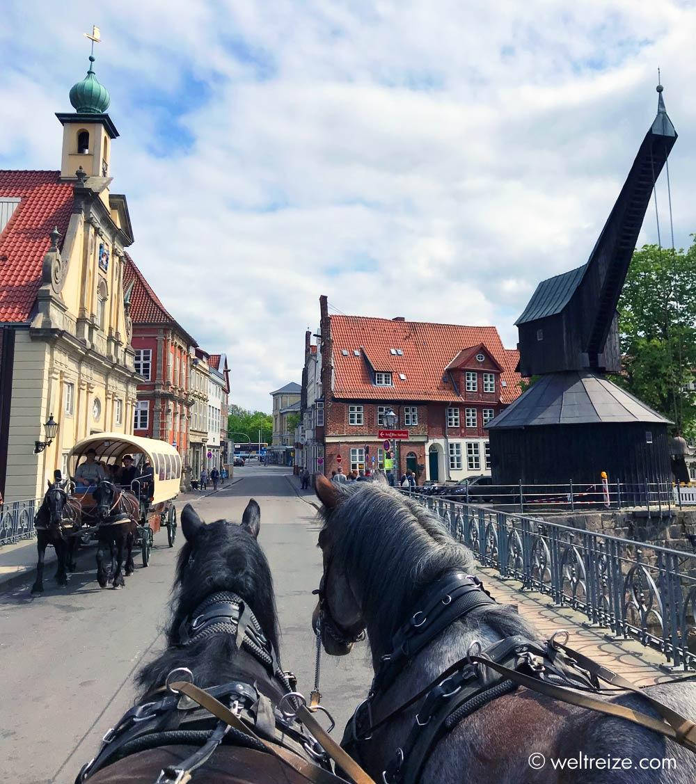 Rundfahrt Pferdekutsche Altstadt Lueneburg