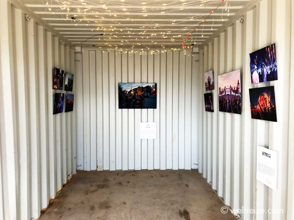 Ausstellung in Containern: Hamburg - The Festival Album