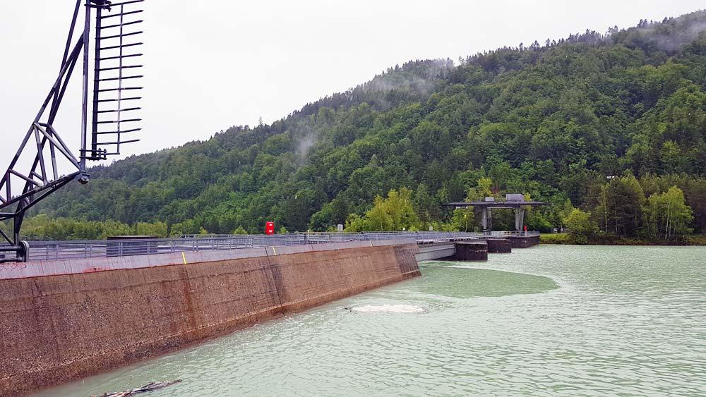 Kraftwerk Saager am Drauradweg