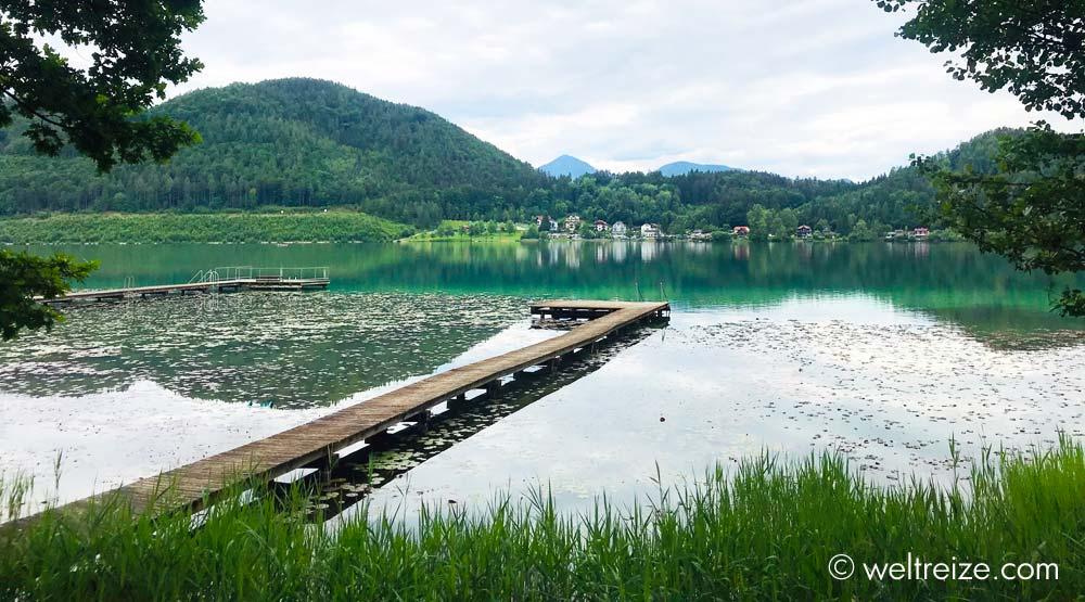 Klopeiner See in Kaernten