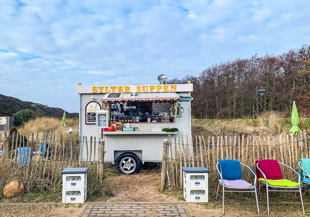 Suppenwagen in List auf Sylt