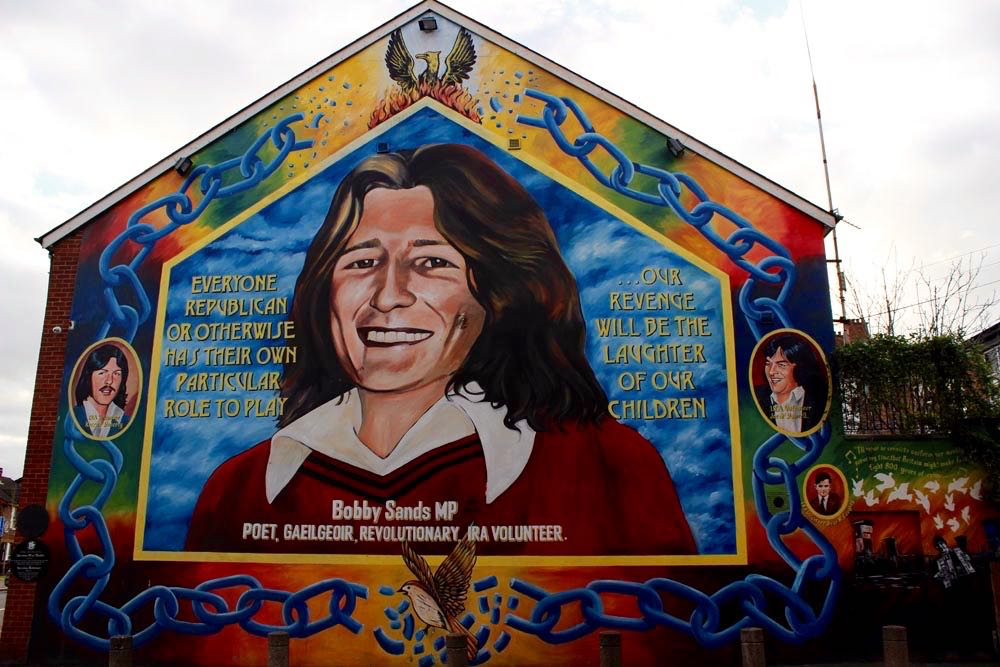 Mural Bobby Sands West Belfast