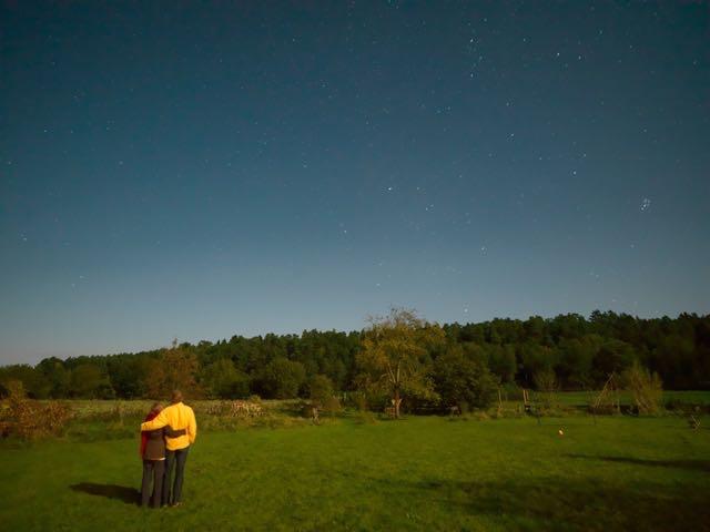 Sternenhimmel ueber dem Wendland