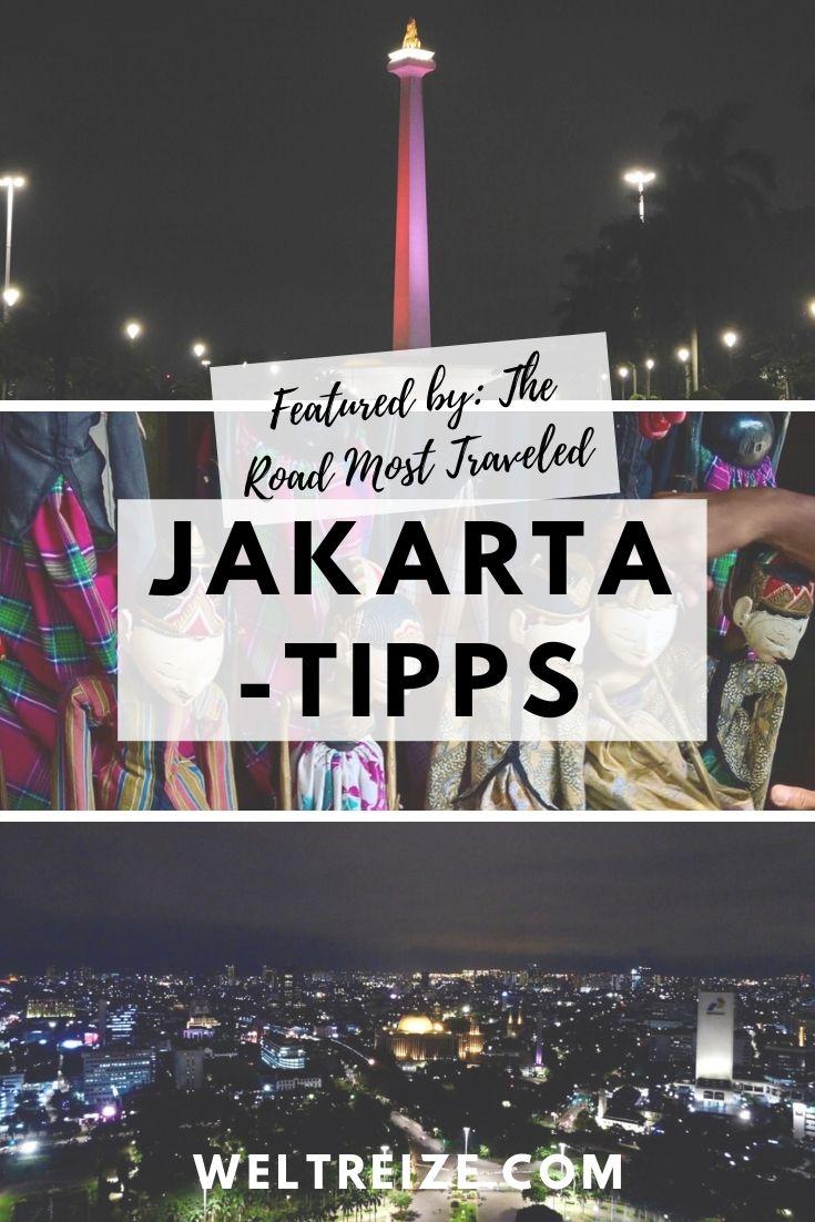 Jakarta-Tipps Pin
