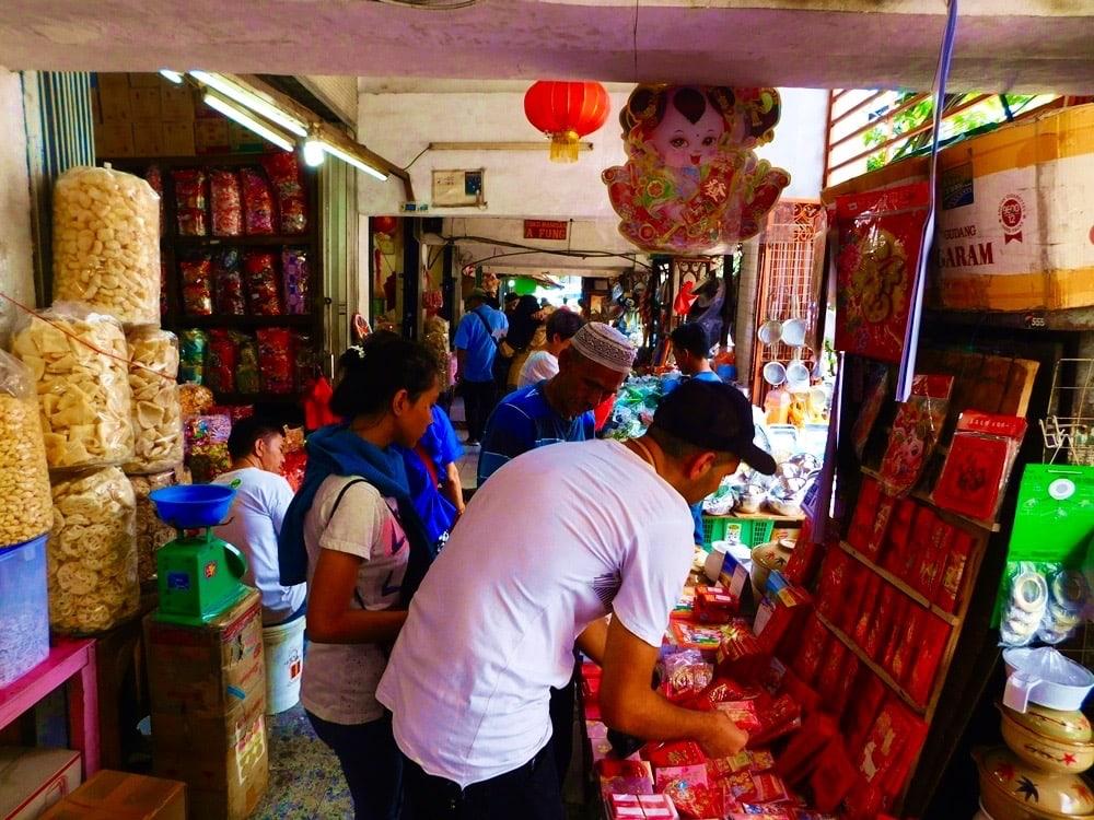 Glodok-Markt Chinatown Jakarta