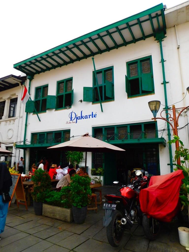 Restaurant Kedai Seni Djakarté in Jakarta