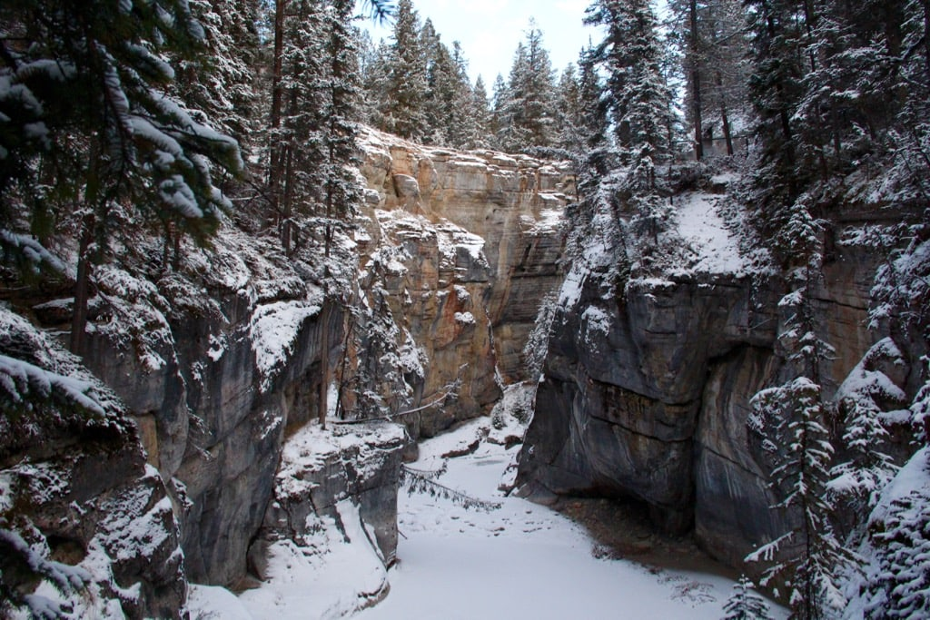 Maligne Canyon im Jasper Nationalpark
