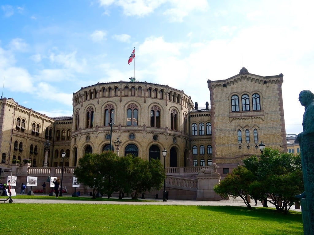 Storting Parlament Oslo