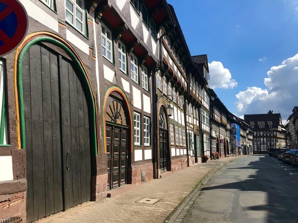 Fachwerk-Ensemble in der Tiedexer Straße in Einbeck