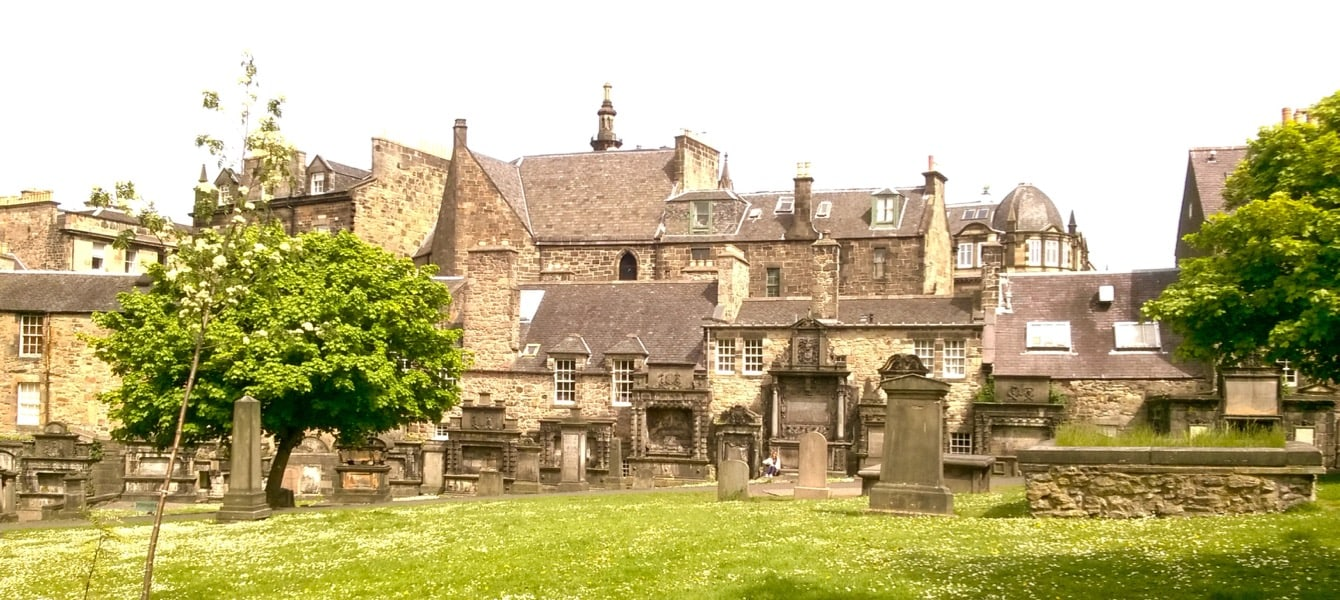 Friedhof Edinburgh
