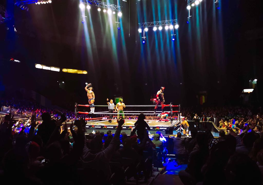 Wrestling Lucha Libre in México City